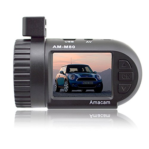 Amacam AM-M80 Miniature HD Dash Cam