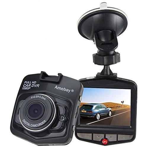 "Amebay Dash Cam 2.4"" FHD 1080P Review"