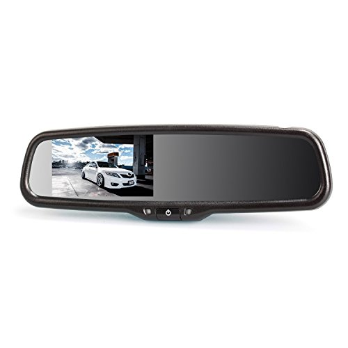 AUTO-VOX T1400 4.3-Inches Car Rearview Mirror Dash Cam Review