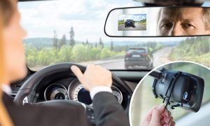 Car In-Mirror Mounted Dashboard Cameras