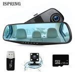 Ispring Dash Cam Rearview Mirror Car Video Recorder Review