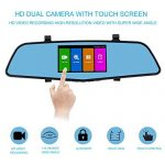 SENDOW Mirror Dash Camera 4.5 Inches IPS Touch Screen Review