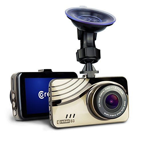 Best Dash Cam With Audio - Corehan Full HD Car Dash Cam