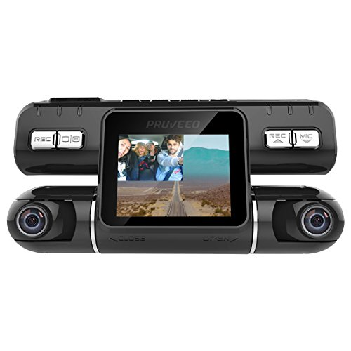 Best Dual Lens Dash Cam - Pruveeo MX2 Camera Driving Recorder