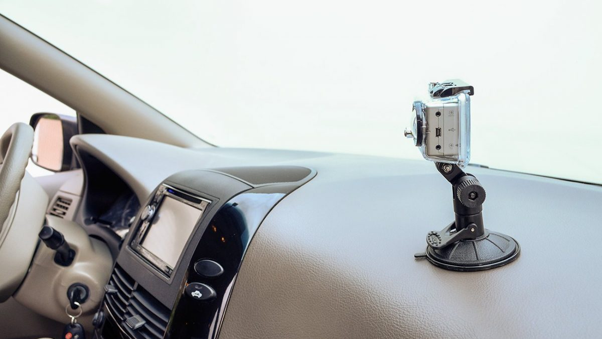 On-Dash Mounted Car Dashboard Cameras