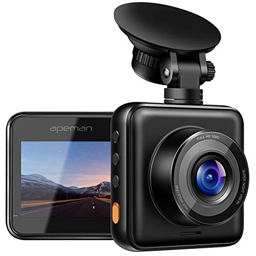 APEMAN C420 HD Mini Dash Cam with Super Night Vision